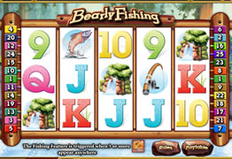 bearlyfishing video slot