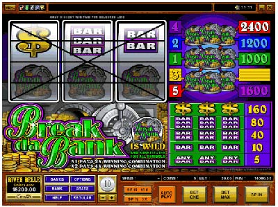 Break Da Bank spilleautomat casino