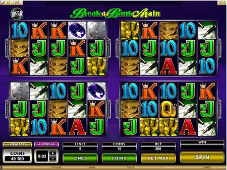 breakdabank mega spin picture slot spilleautomat