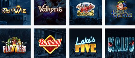 Et utvalg av spill fra elk studios
