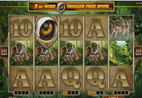 Untamed Bengal Tiger   video slot