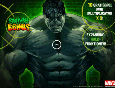 incredilbe hulk video slot