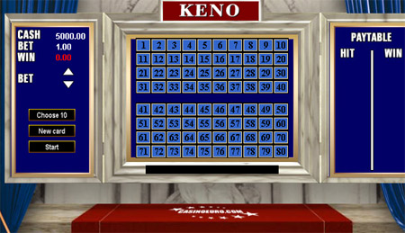 keno hos casinoeuro