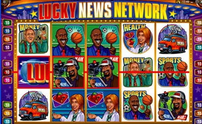 lucky news network - play it here!