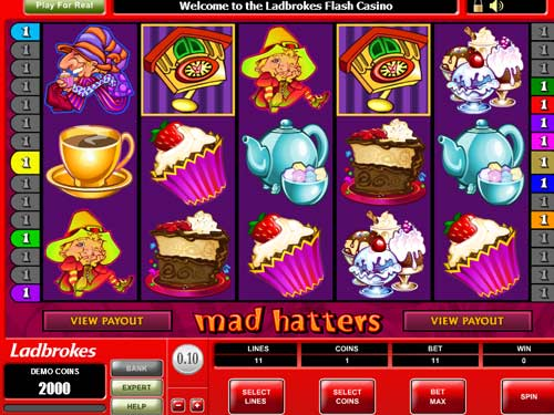 mad hatters video slot microgaming