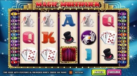 MagicMultiplier video slot