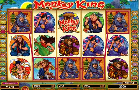 Monkey King video slot