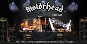 motorhead videoslot spilleautomat