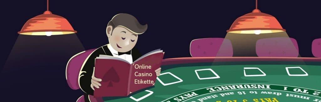 etikette casino