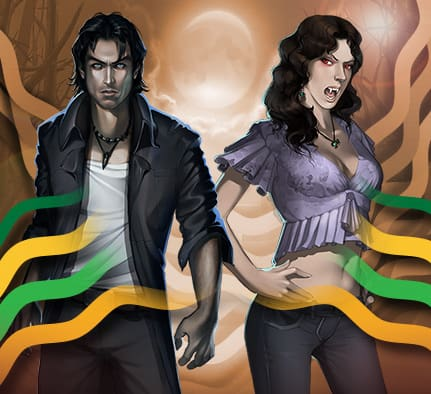 Vampires promo hos Casinoluck
