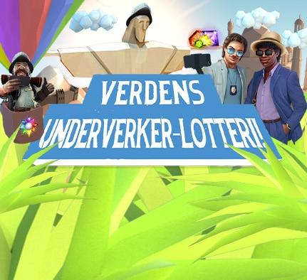 Verdens Underverk-lotteri NetEnt