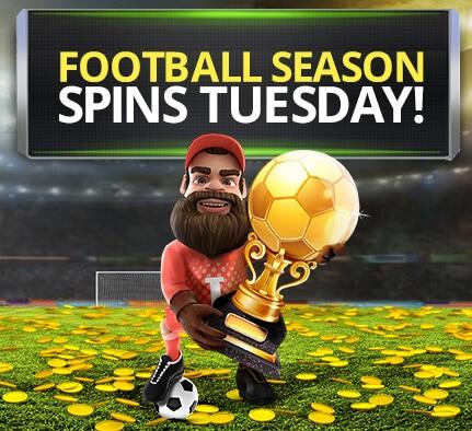 HeySpin fotball sesong kampanje