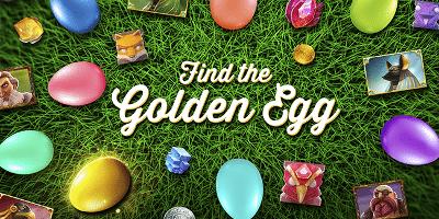 Gyldne egg-kampanje hos Fantasino