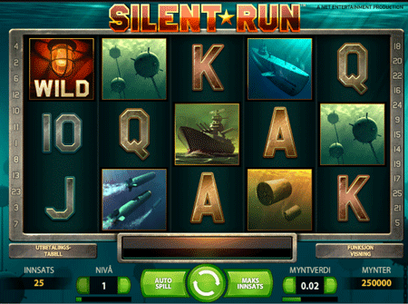 silent run video slot