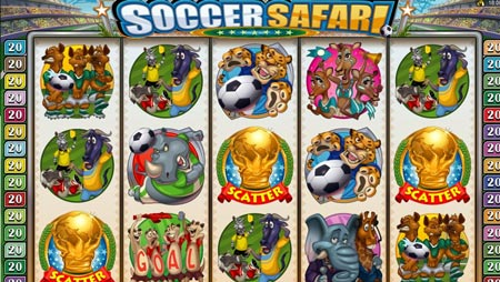 Soccer Safari video slot