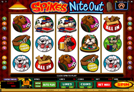 Spikes Nite Out video slot