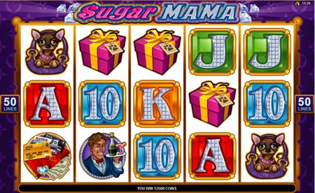 Sugar Mama video slot