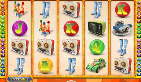 the groovy sixties video slot